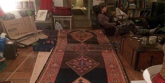 Min långa matta