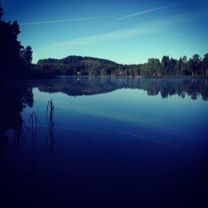 Inte långt från Tabergs topp i Småland bor den här bloggaren. Visst är det vackert här!
