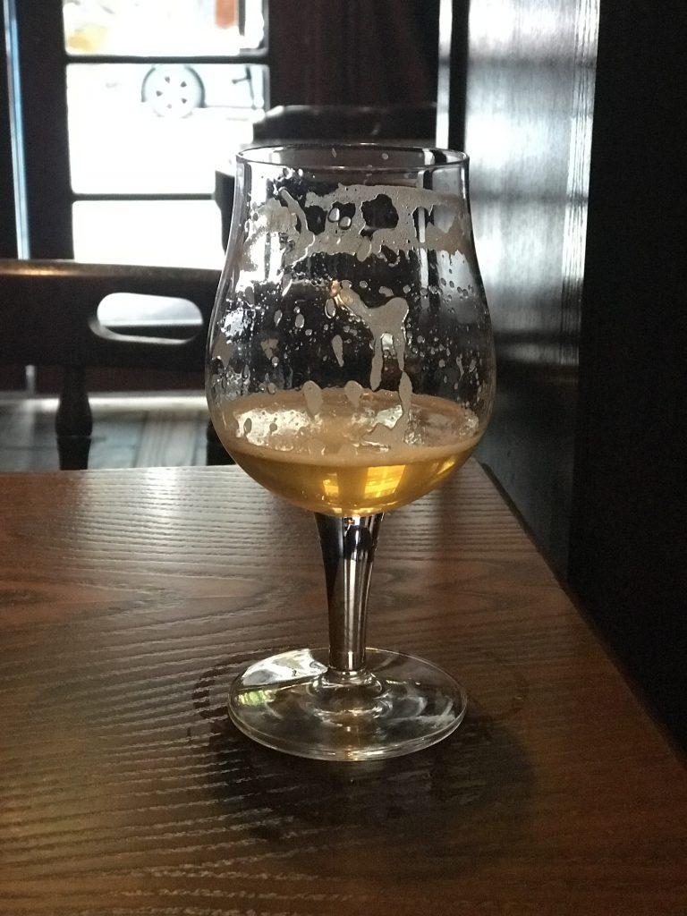 En Hyllipa från Hyllie bryggeri.