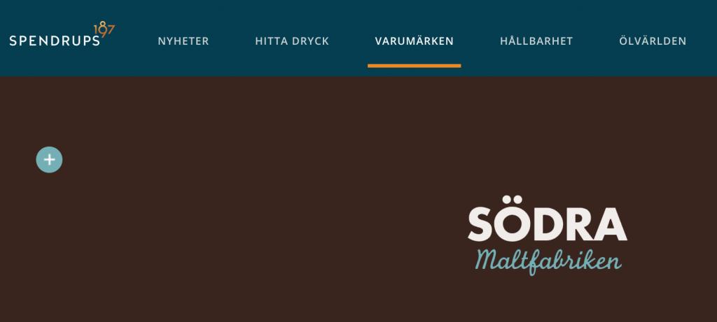 Södra Maltfabriken och Spendrups. Foto: Skärmdump.
