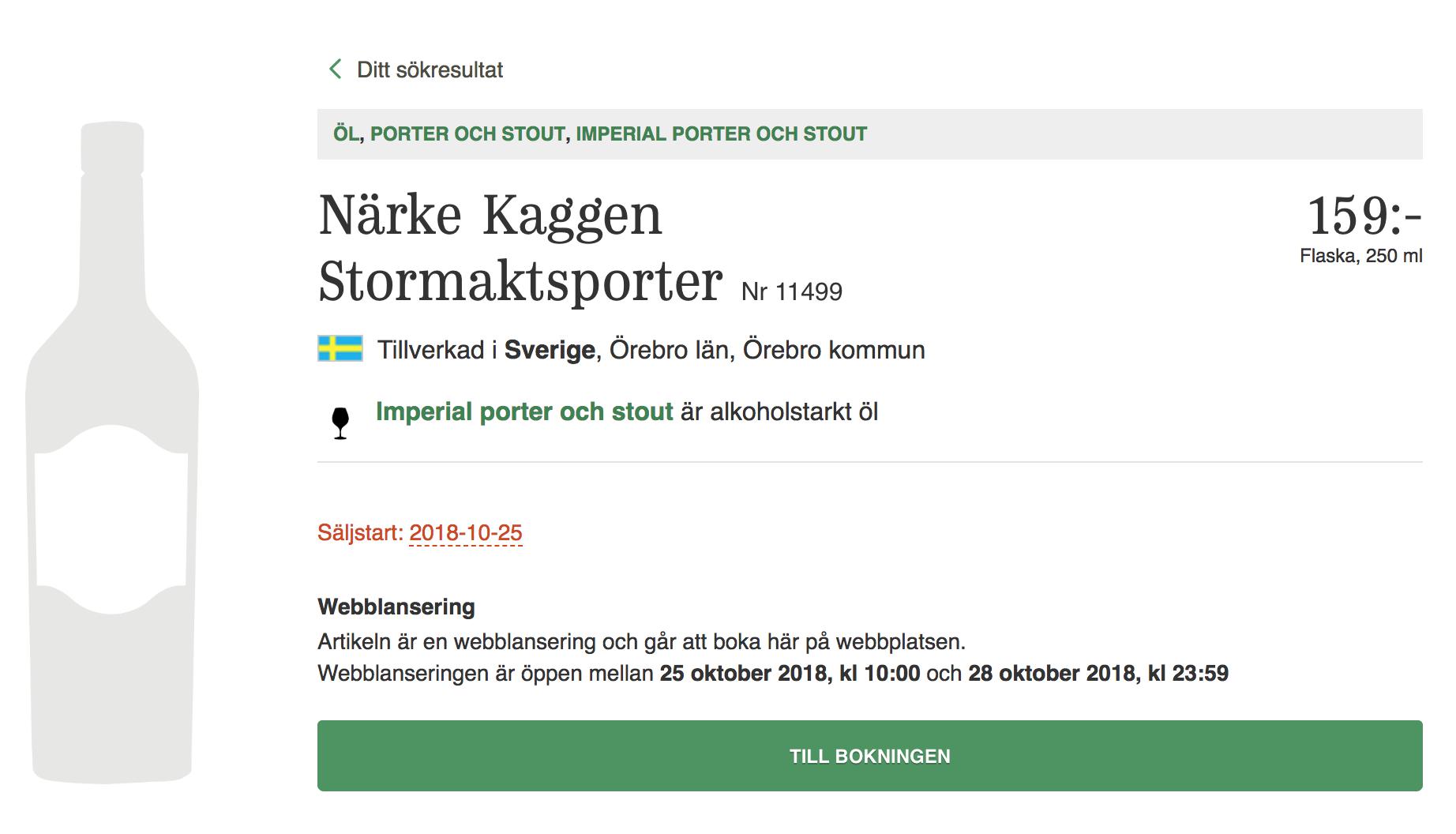 Närke Stormaktsporter på bolaget.