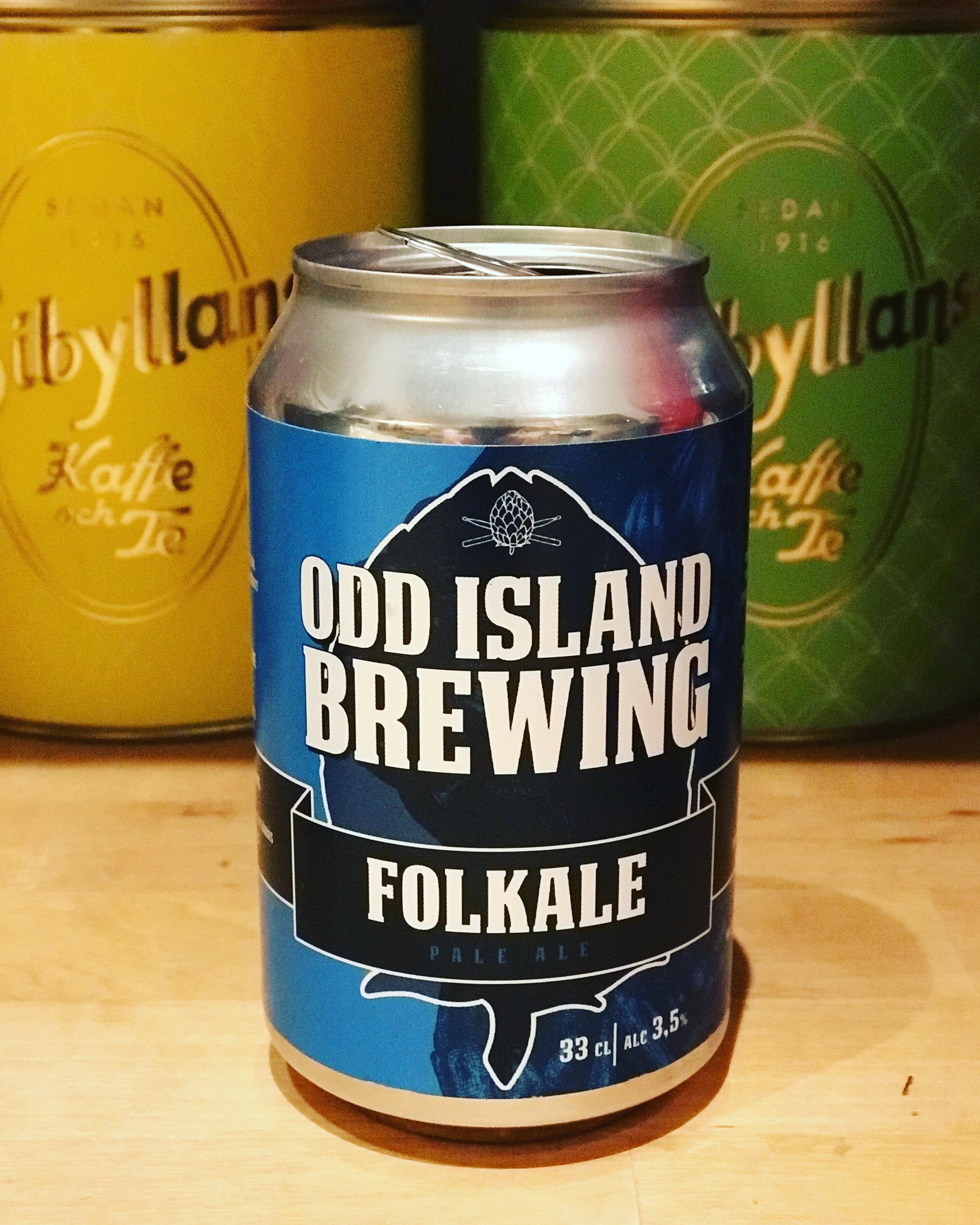 Folkale från Odd Island brewing. Foto: Joel Linderoth.