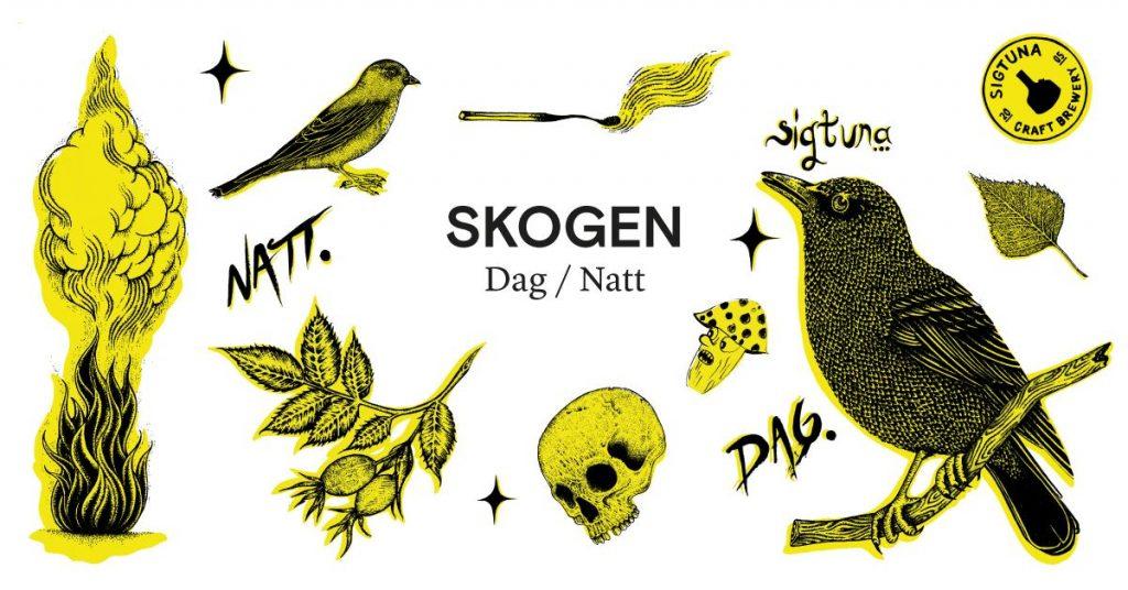 Skogen dag och natt av Ragnar Persson.