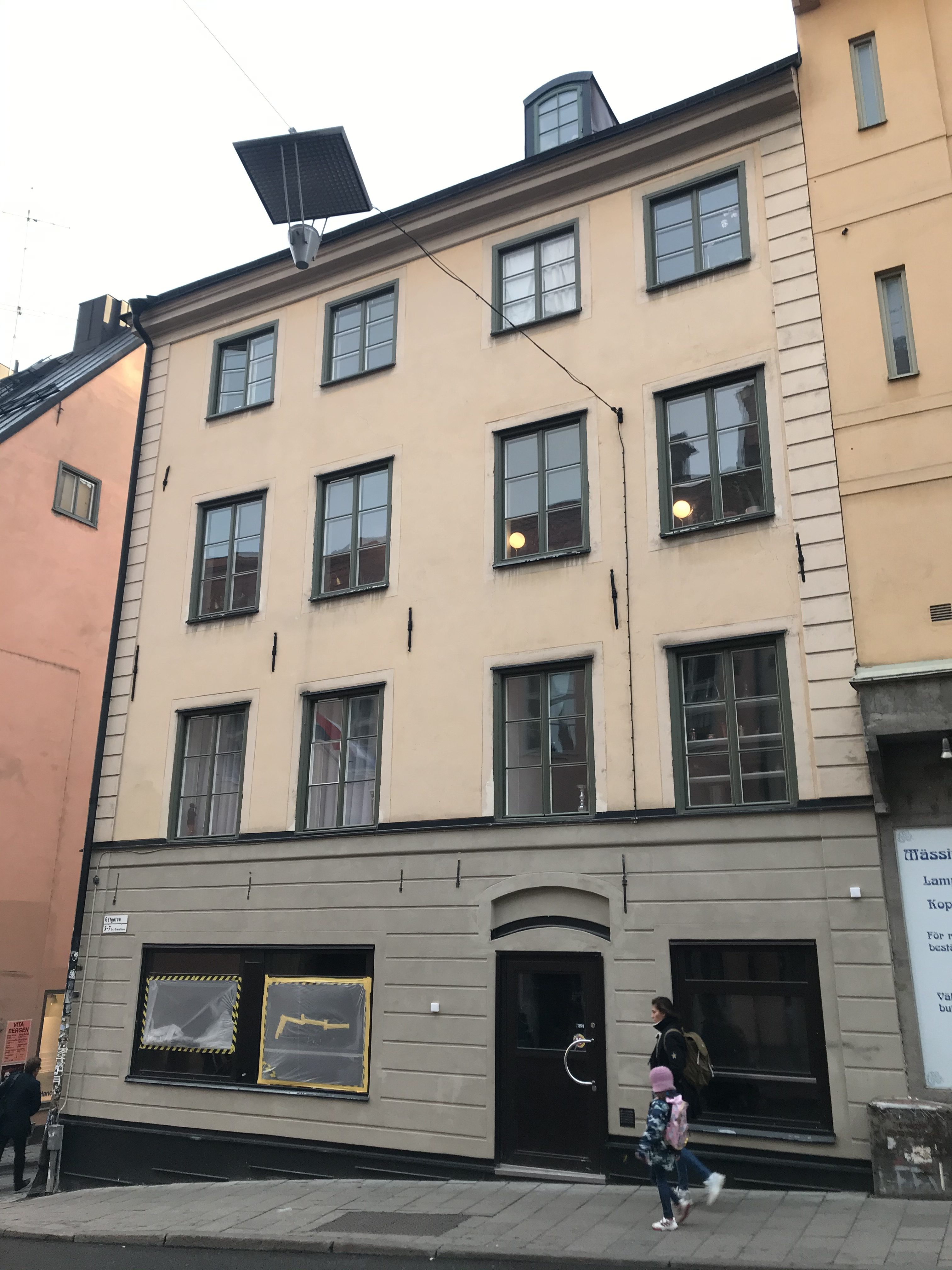 Platsen för Stigbergets nya bar
