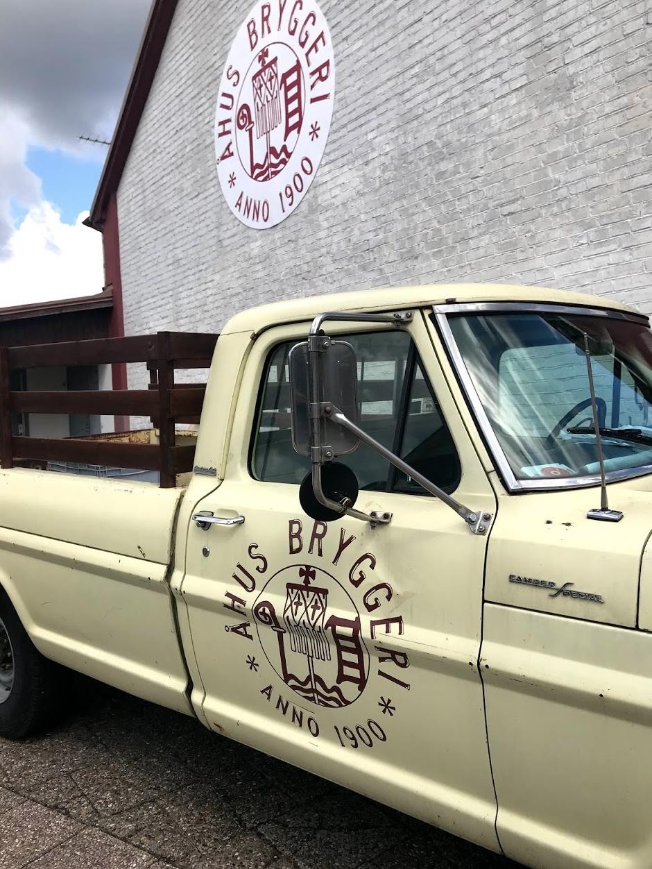 Klassisk bryggarbil