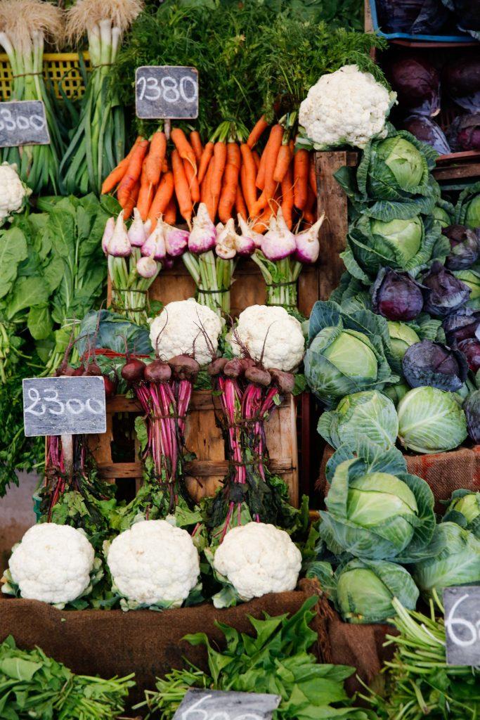 Tänk om vi hade haft sådana här grönsaksmarknader i Sverige.