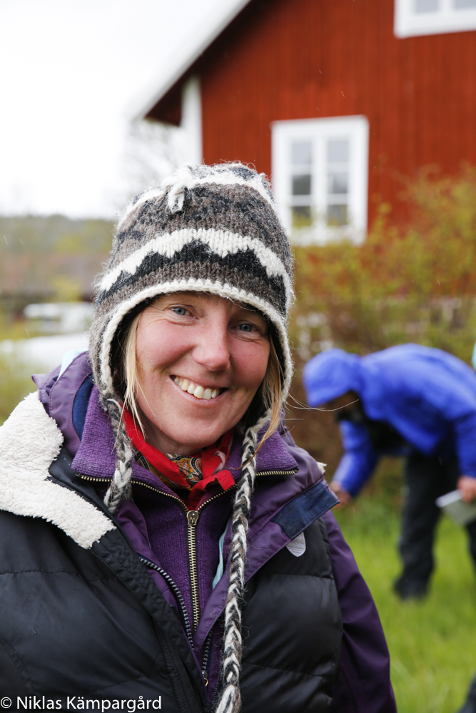 Ann-Louise Fransson på företaget Botanikan.se är expert på vilda växter.