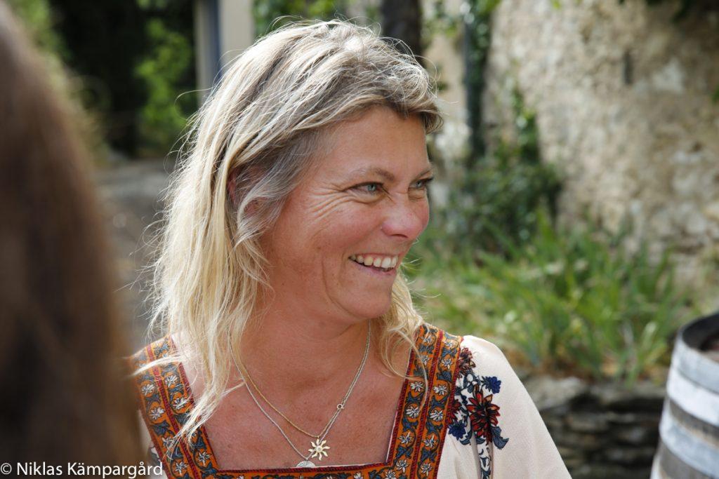 Svenska My Nilsson exporterar franska viner till Sverige genom sitt företag Pinot Noir My Wine.