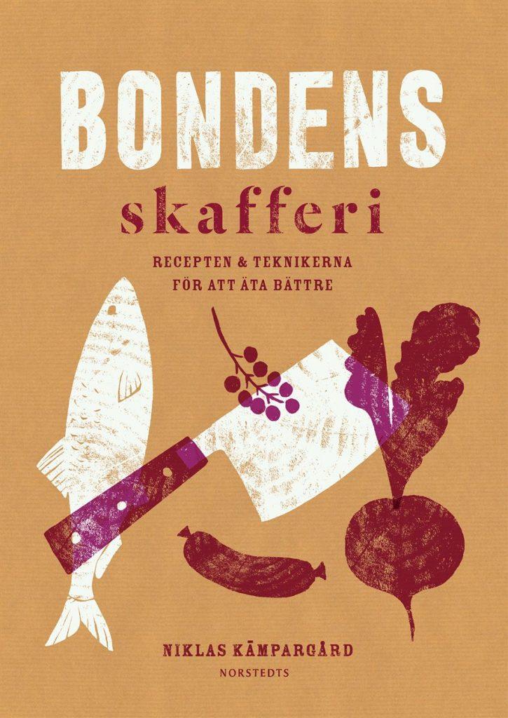 Beställ ett signerat exemplar av Bondens Skafferi genom att maila niklas@kampargard.com