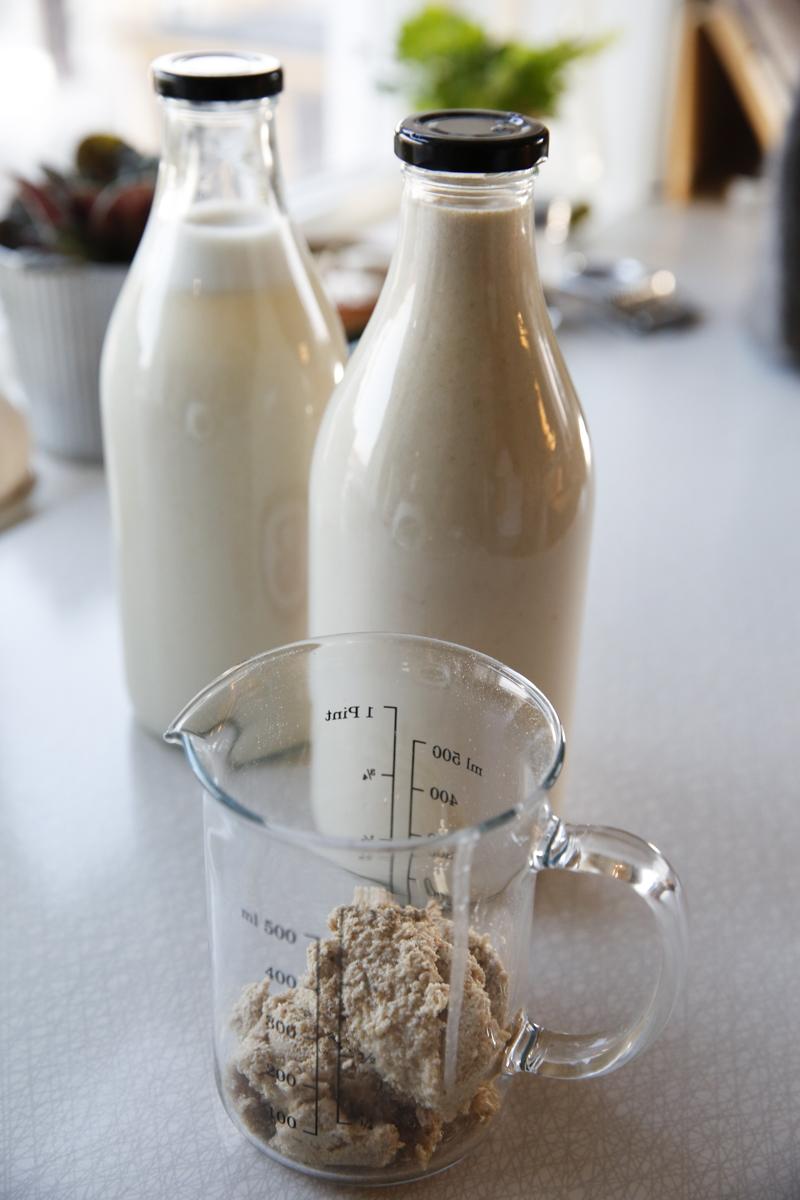 göra egen havremjölk
