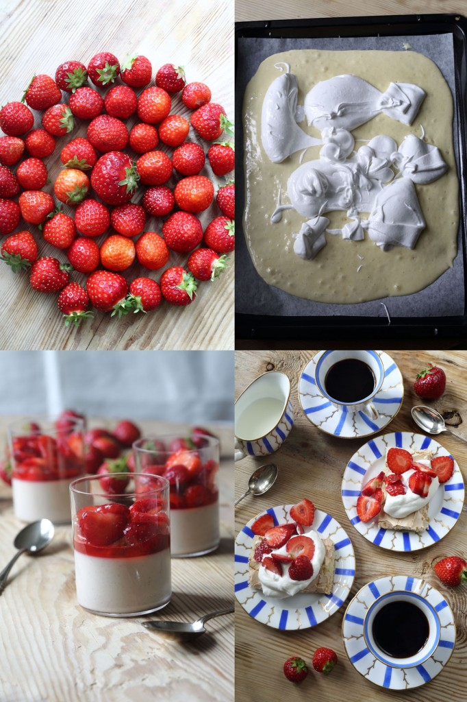 jordgubbar och grädde galleri