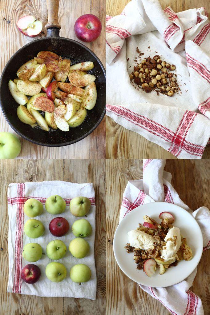 äppeldessert, galleri