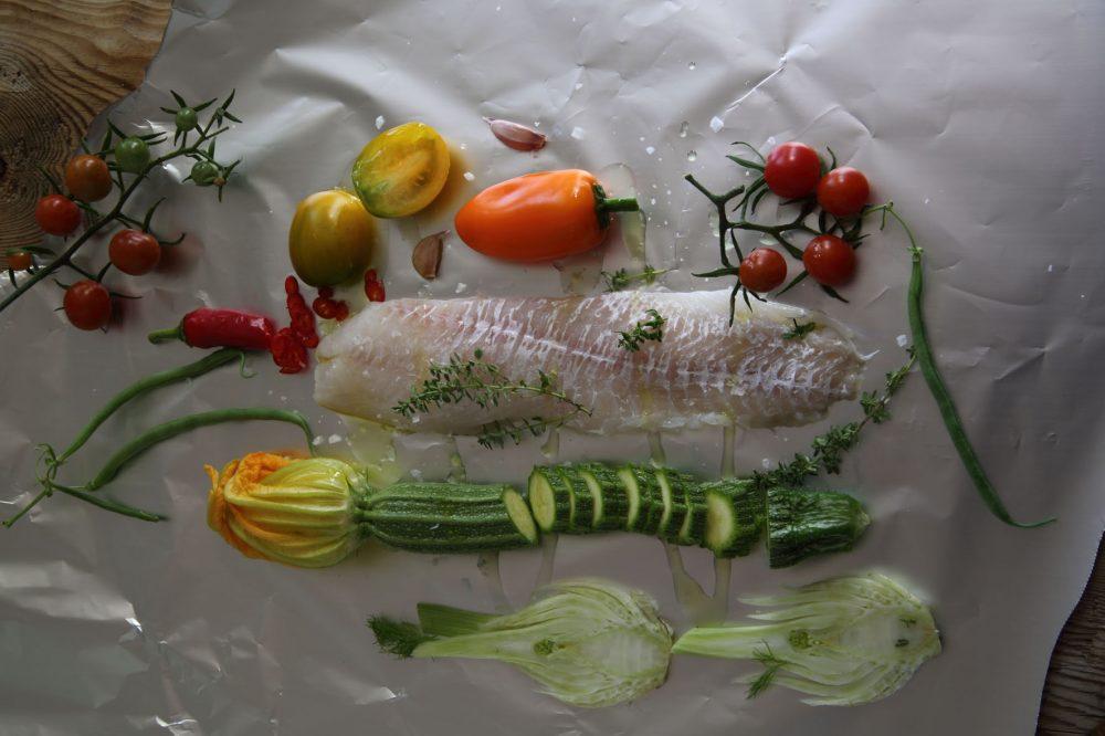 fisk i folie