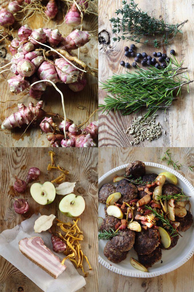 viltfärsbiffar höstens smaker