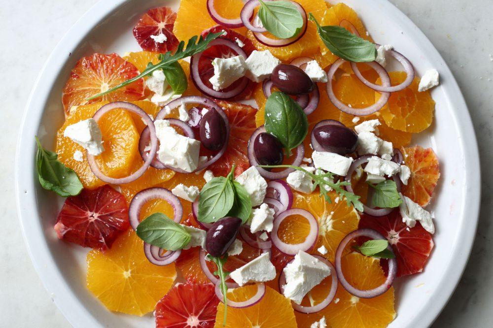 apelsinsallad