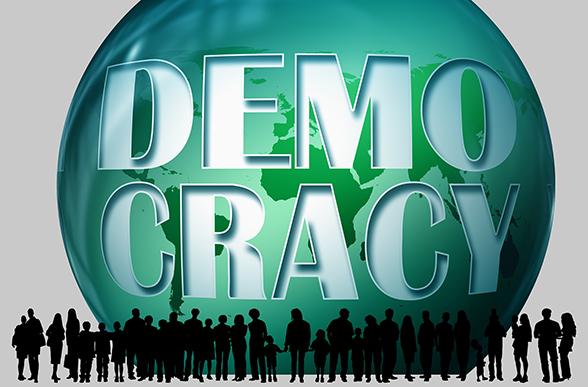 Demokratins syfte