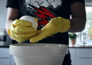 hemgjord mozzarella